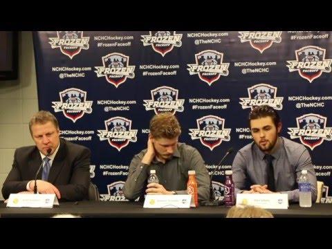 2015-16 UMD Men's Hockey: UMD-4, North Dakota-2 Post Game (3/18/16)