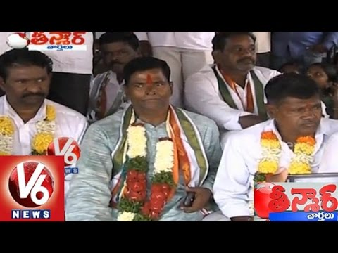 Wanaparthy MLA Chinna Reddy on hunger strike, demands separate district - Teenmaar News