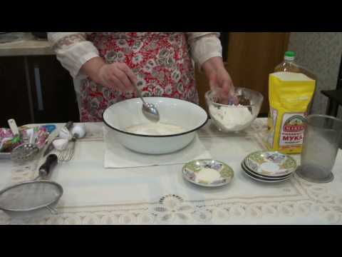 Воздушное тесто на манке/Как поставить тесто