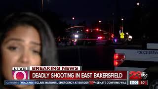 Innocent bystander killed in East Bakersfield shooting