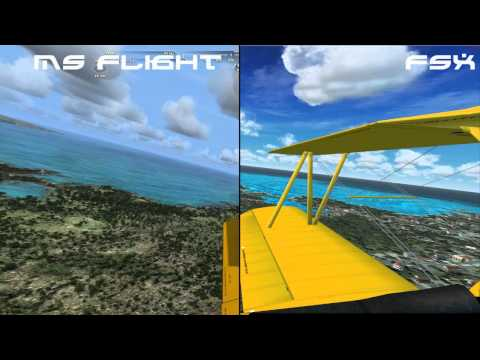 Flight Simulator X vs. Microsoft Flight (Graphically)