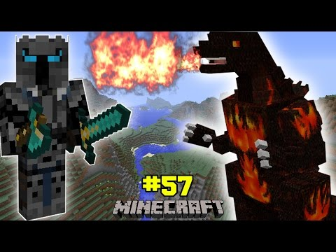 Minecraft: Burning Godzilla Challenge [eps6] [57] video