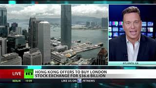 Hong Kong offers to buy London exchange