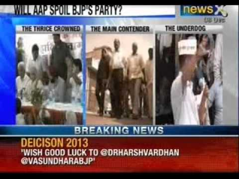 Delhi assembly elections 2013 Live 1 : Counting of votes from 8am today - NewsX