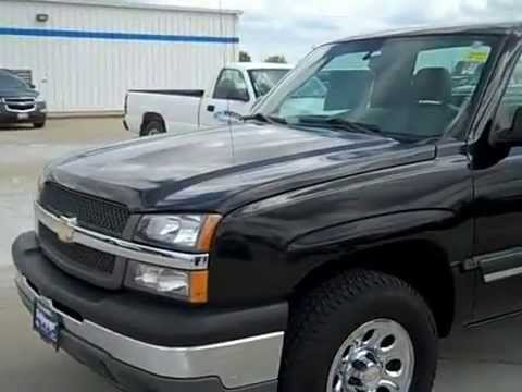 2005 chevy silverado regular cab work truck review   stock 978601