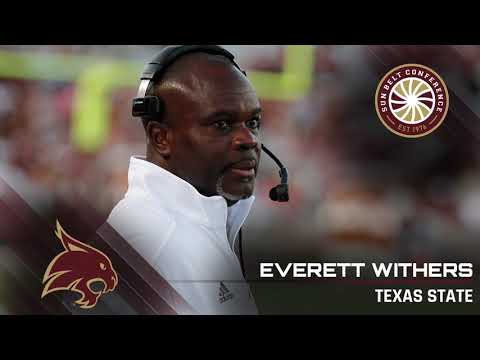 Texas State Head Coach Everett Withers: 9/17 Media Teleconference