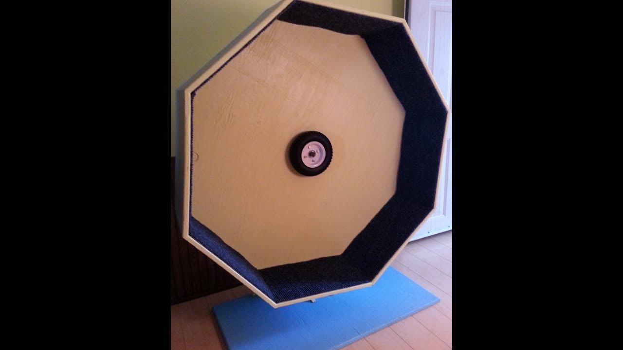 Cat Exercise Wheel - part 1 - YouTube