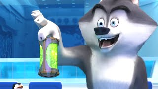 DreamWorks Madagascar | Penguins of Madagascar: North Wind Headquarters | Movie Clip | Kids Movies