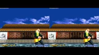 Virtua Fighter 2 Opening 3D Stereoscopic