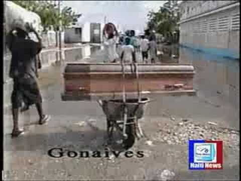 HAITI NEWS DESK 9 11 08 HURRICANE RELIEF FOR HAITI PART # 1