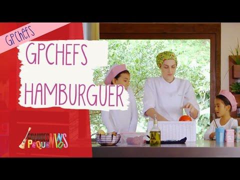 Grandes Pequeninos Chefs - Hamburguer