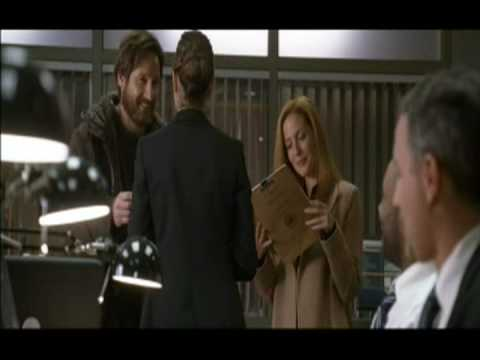 Gillian Anderson bloopers in The X-Files: IWTB (part 2.1)