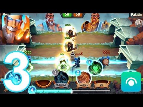 Spellbinders - Gameplay Walkthrough Part 3 - Paladin (iOS, Android)