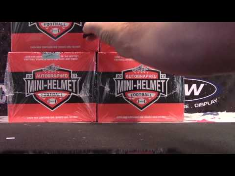 Steven's 2017 Leaf Mini Helmet & 2016 Donruss Signatures NFL 2 Box Break