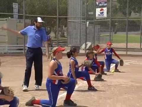 Softball Throwing Drills - The Swim Drill - YouTube