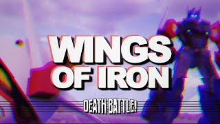 DEATH BATTLE Music: Optimus Prime VS Gundam | WINGS OF IRON by Therewolf Media