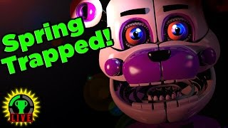 FNAF Sister Location: Spring TRAPPED! (+ Ballora Easter Egg)