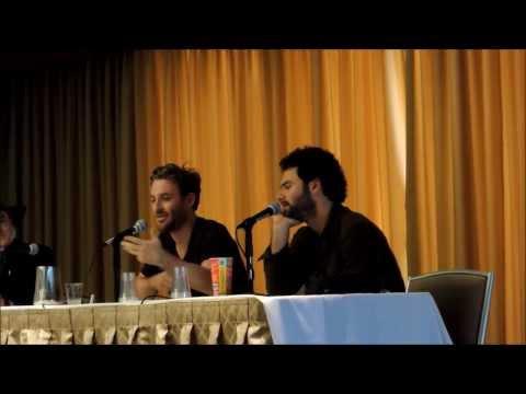 Aidan Turner & Dean O'Gorman Q&A