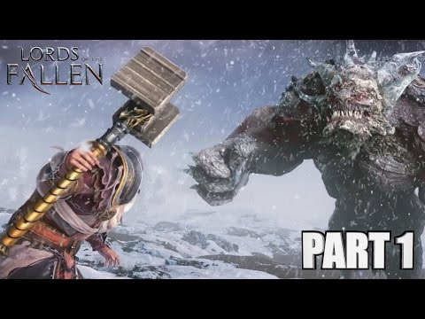 Lords Of The Fallen Walkthrough Part 1 - PlayStation 4 Gameplay Review With Commentary 1080P