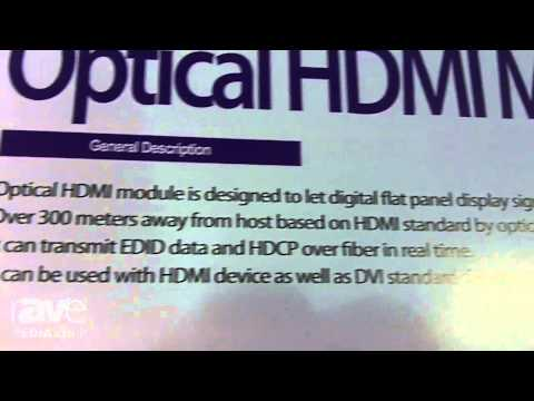 CEDIA 2014: Clarion Shows Optical HDMI Modules Up to 300 Meters Over Multi-mode Fiber