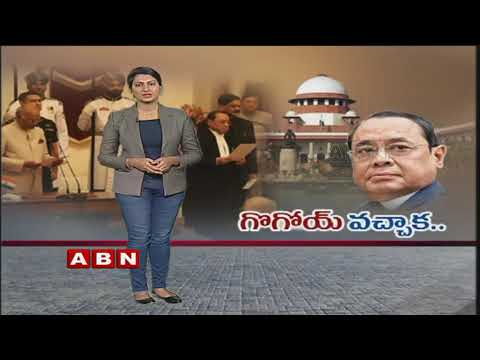 Justice Ranjan Gogoi Takes Charge As Chief Justice Of India | National News | ABN Telugu