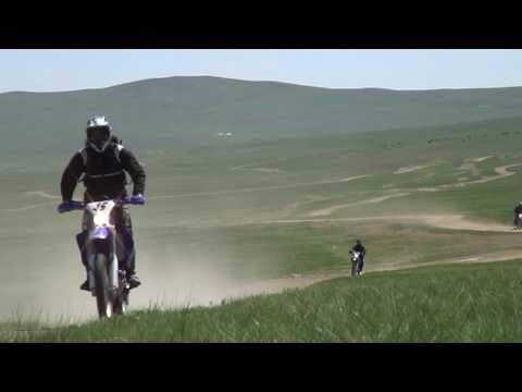 Mongolia KTM & Yamaha Enduro Off Road Motorcycle Touring in Eastern Mongolia