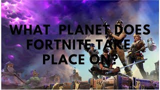 (GIVEAWAY!) Game Theory: What PLANET does Fortnite take place in?