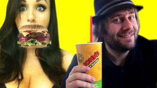 Pumped Up Kicks Foster The People Parody: Fast Food Fix! (LIVE)