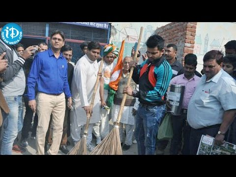 Suresh Raina Joins in Modi's Swachh Bharat Campaign
