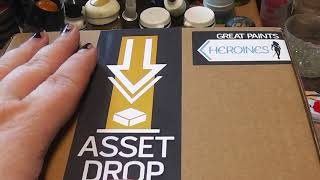 Unboxing Asset Drop Box June 2018 and Heroines