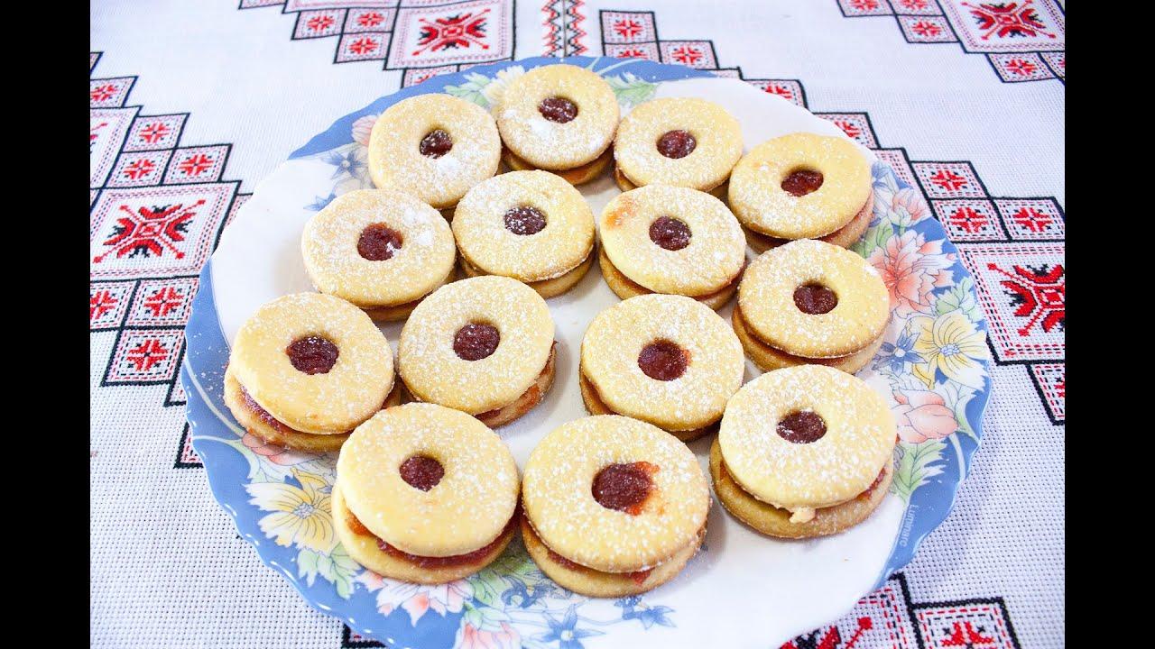 Печенье с вареньем рецепты простые в домашних условиях
