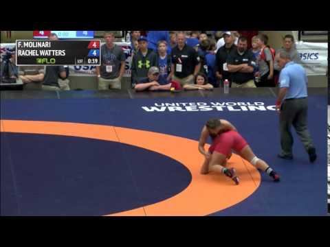 69kg 3rd, Rachel Watters, Gator OKCU vs Forrest Molinari, King