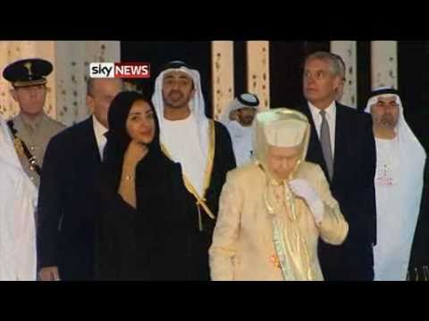 The Queen Visits Abu Dhabi - Sky News