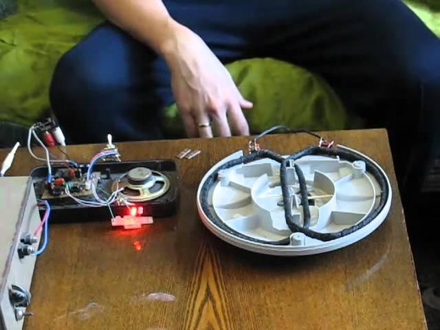 Как сделать металлоискатель в домашних условиях с дисков