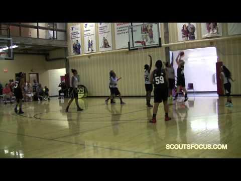 "Team9 136 Mariah Daniels 5'9"" 210 Camp Verde High School Arizona 2015"