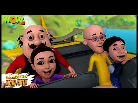 Adventure Of Mansi And Akash - Motu Patlu in Hindi - ENGLISH, SPANISH & FRENCH SUBTITLES!