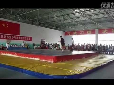Sanda in China: Competition Hebei province 2013 (Quarter finals -80kg)