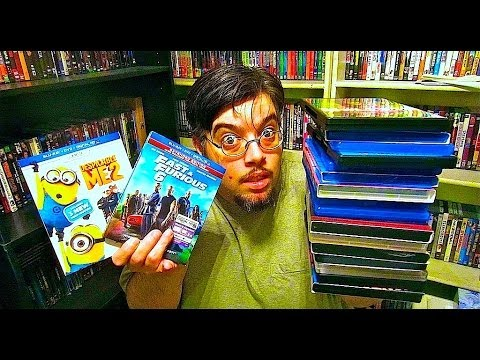 My Blu Ray Collection Update 12/6/13 Blu ray and Dvd Movie Reviews