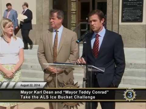 Mayor's ALS Ice Bucket Challenge