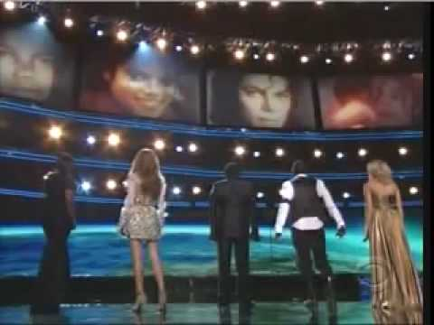 Celine Dion and others - MICHAEL JACKSON TRIBUTE - IN 3D  -