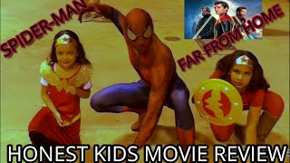SPIDERMAN Far From Home- The Honest Kids Movie Review!