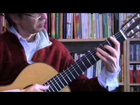 Francisco Tarrega - Prelude 4 In A Major