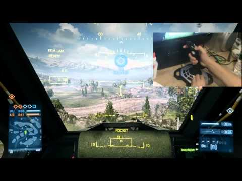 Extreme 3D Pro Joystick   Battlefield 3   What it Looks Like   Jet and Helicopter