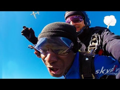 1 MILLION SUBSCRIBERS! - SKYDIVING IN THE SWISS ALPS!