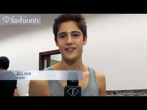 Iceberg Men Spring summer 2014 Backstage | Milan Men's Fashion Week | Fashiontv video