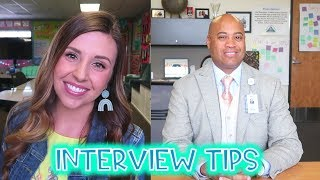 Teacher Interview Tips W/MY SUPERINTENDENT