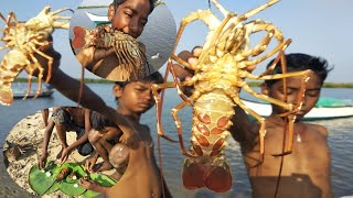 survival skills**lobster seafood _cooking style in Indian children's _BTE entertainment