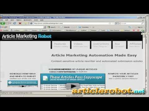 0 Best Article Submitter Software | Fully Automatic Spinning & Submission