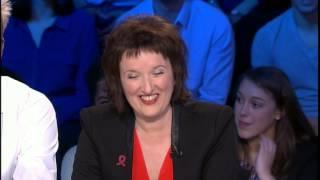 Quel chroniqueur ose faire peur à Anne Roumanoff ? On n'est pas couché 05/04/14 #ONPC