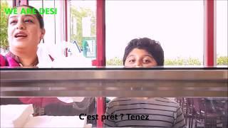 Le le le maza le | Funny video By We Are Desi | sous titre Français